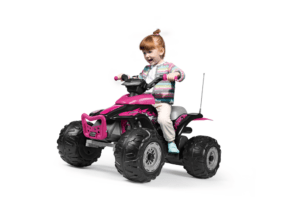 Topkidcar - Corral T-Rex Pink Quad für Kinder im Alter von 3-6