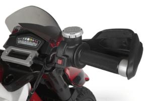 TopKidCar - Ducati Enduro Elektromotorrad für Kinder im Alter von 3-7