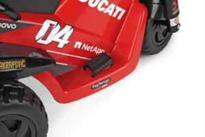 TopKidCar - Ducati Desmosedici Evo Elektrodreirad für Kinder im Alter von 2-4