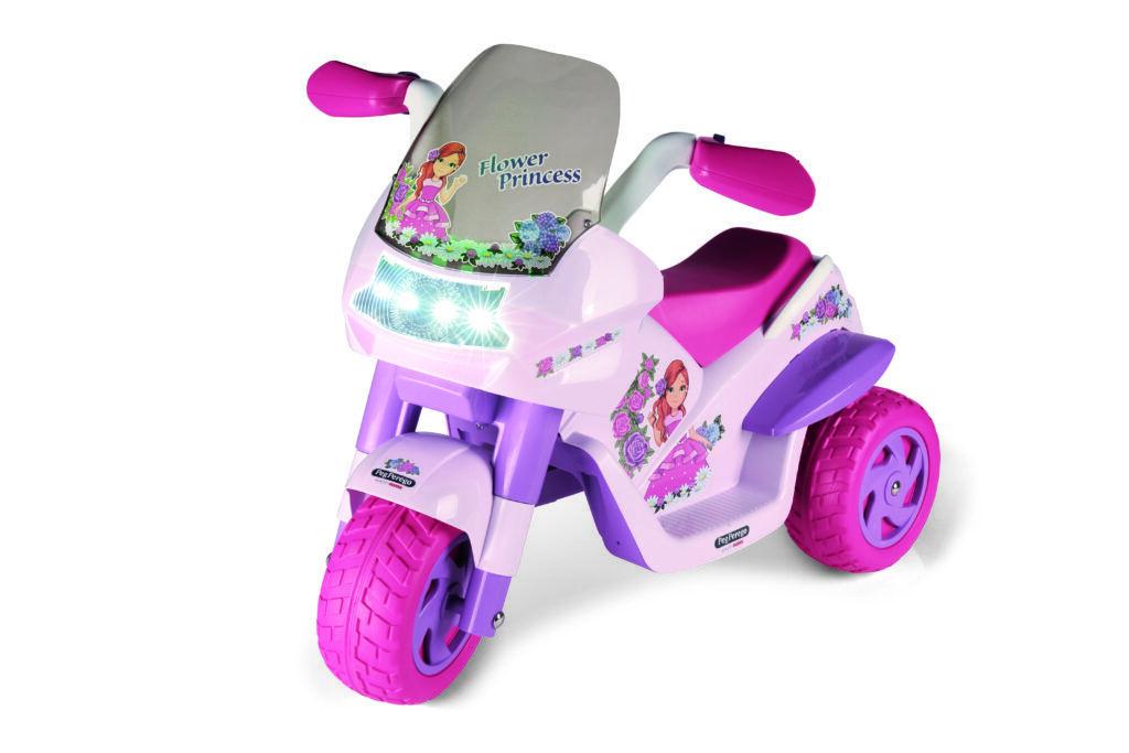 TopKidCar - Flower Princess Elektrodreirad für Kinder im Alter von 2-4