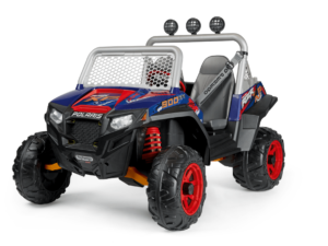TopKidCar - Polaris RZR 900 XP Elektroauto für Kinder im Alter 3-7