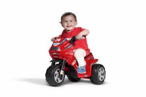 TopKidCar - Mini Ducati Elektrodreirad für Kinder im Alter von 1-3