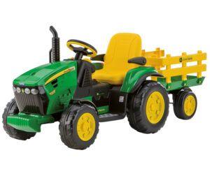 TopKidCar - John Deere Ground Force Elektrotraktor für Kinder im Alter von 3-7