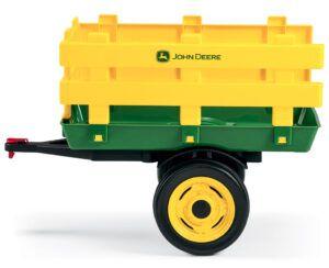 TopKidCar - John Deere Stake-Side Trailer Anhänger